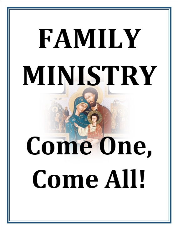 Family Ministry Title Page